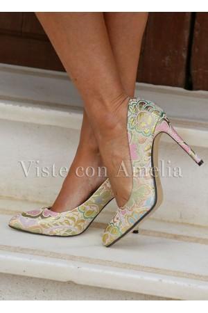 Zapato Brocado
