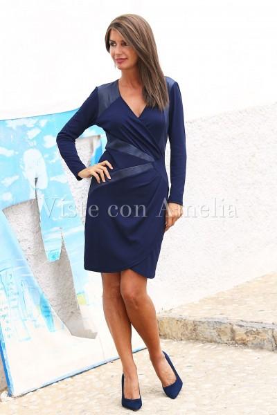 Vestido Matahari Azul