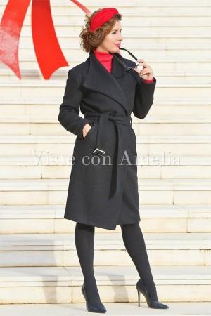Abrigo negro Casablanca