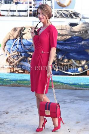 Vestido Camarote Rojo