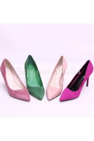 Zapato violeta