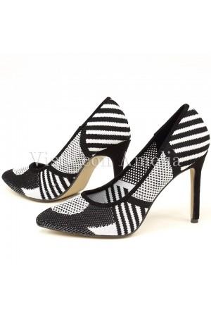 Zapatos Blanco y Negro
