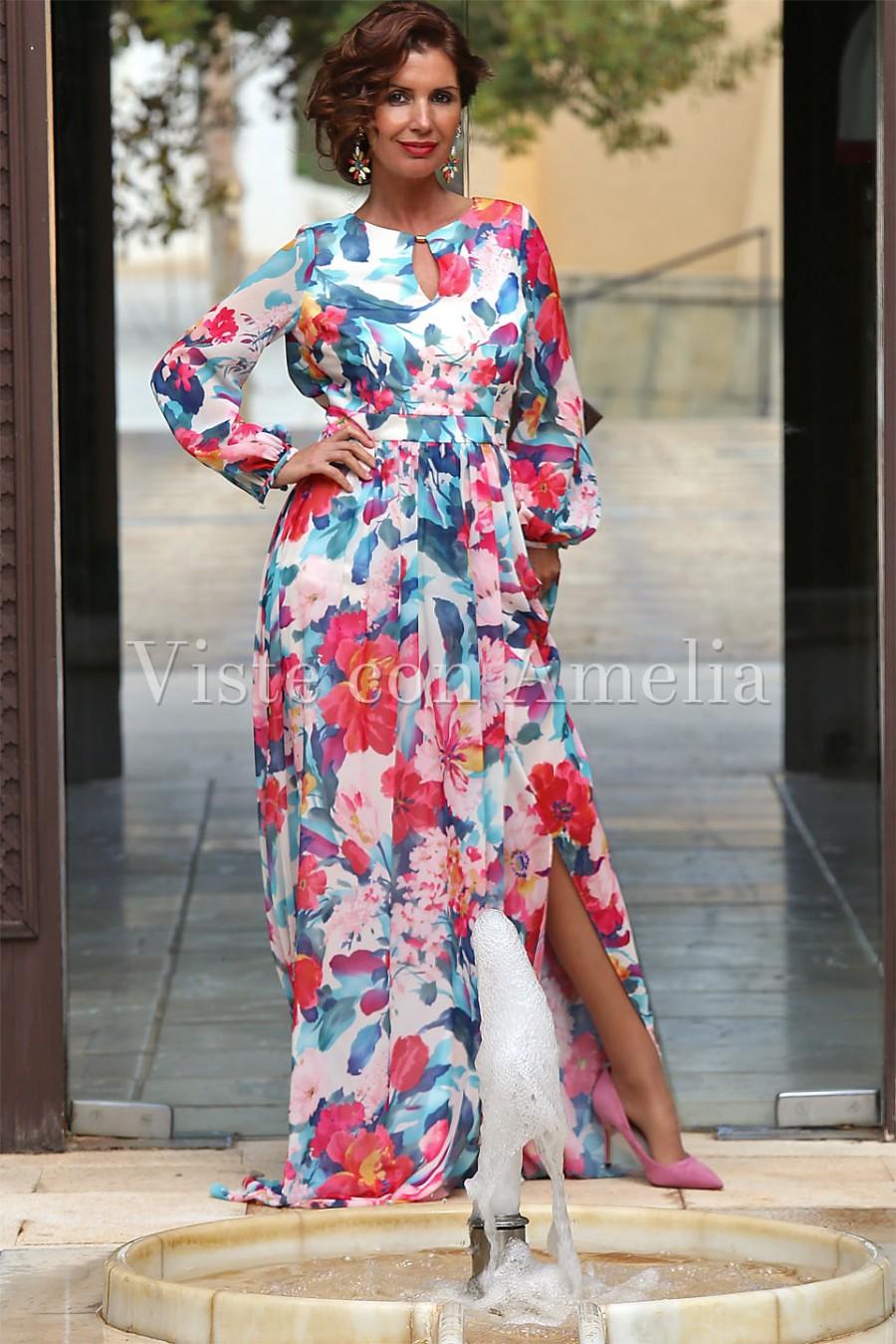 70c7302168 Qué accesorios usar con tus vestidos florales  - Viste con Amelia