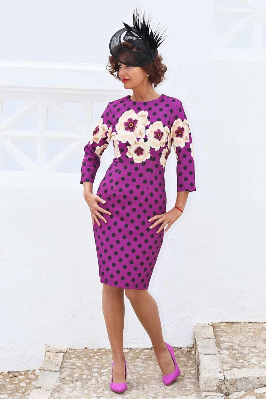 Vestidos de lunares para mujeres con arte, ¡y olé!
