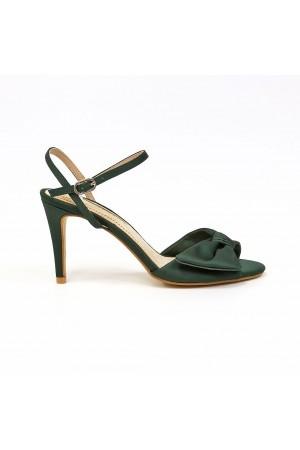 Sandalia Raso Verde