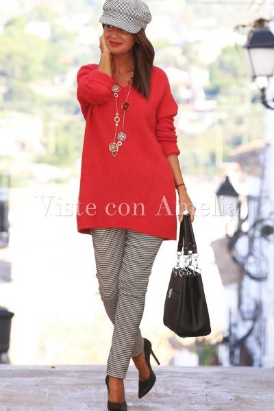 Jersey Rojo Mohair