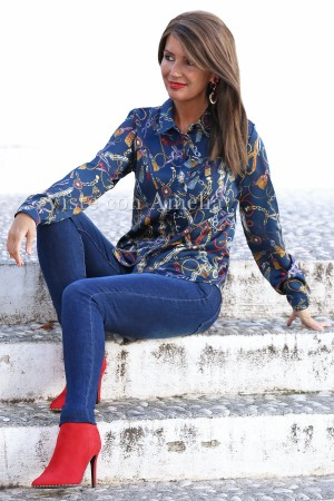 Camisa Anette Azul