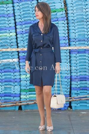 Vestido camisero Antonieta