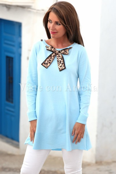 Suéter Carlota Azul cielo