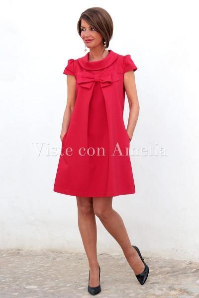 Vestido rojo Filomena