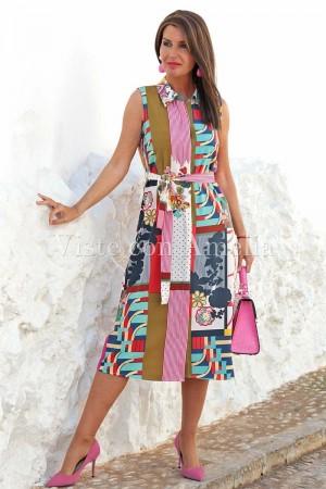 Vestido camisero Vogue