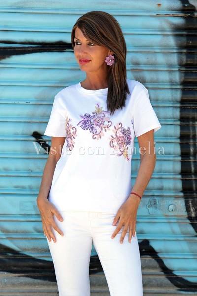 Camiseta Púrpura