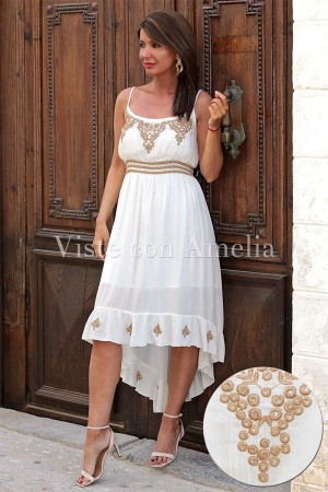 Vestido Karma Blanco