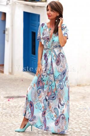 Vestido largo Fara