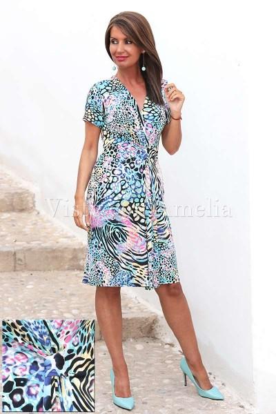Vestido Riviera Tonos azules