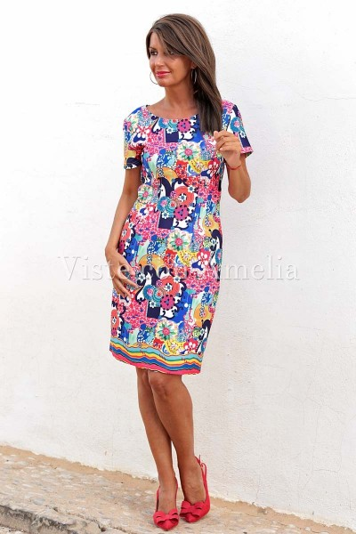 Vestido Monet