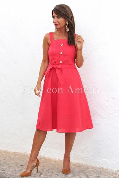 Vestido Dandy Rojo
