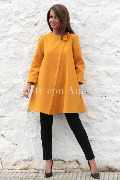 Abrigo Versalles Amarillo/ocre