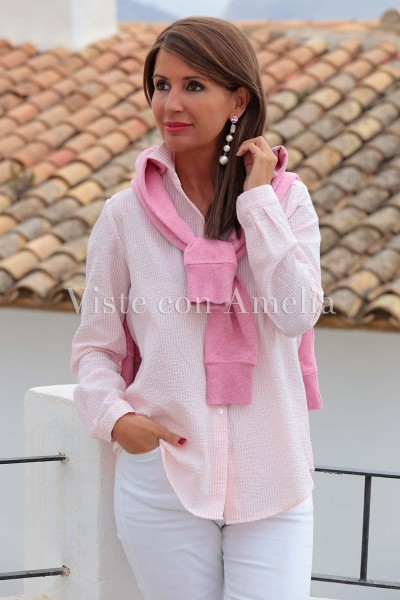 Camisa Niza Rosa