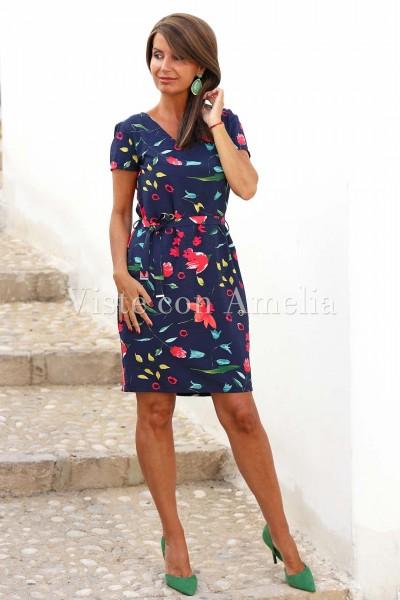 Vestido Hortensia