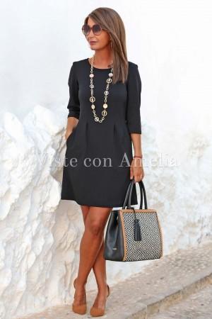 Vestido Federica Negro