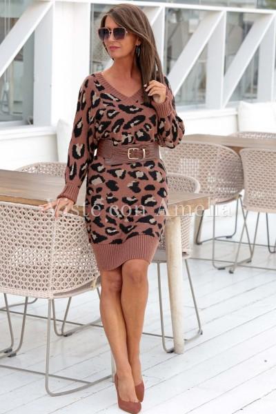 Vestido Punto Leona