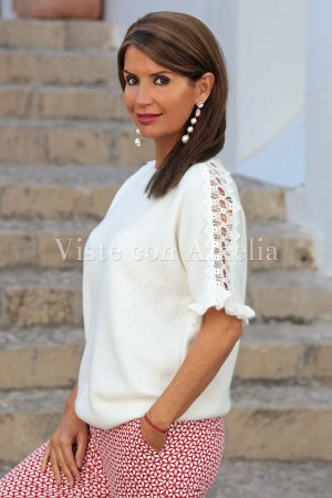 Suéter Blanco Tina