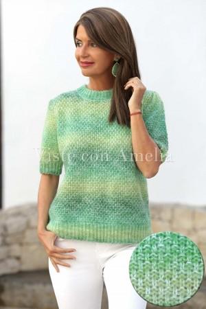 Suéter Caprichoso Verde