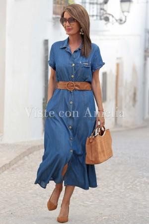 Vestido Chantal Vaquero