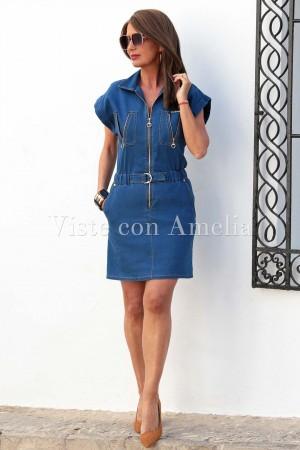 Vestido Dora Vaquero