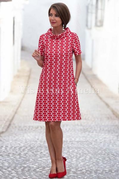 Vestido Salomé Rojo