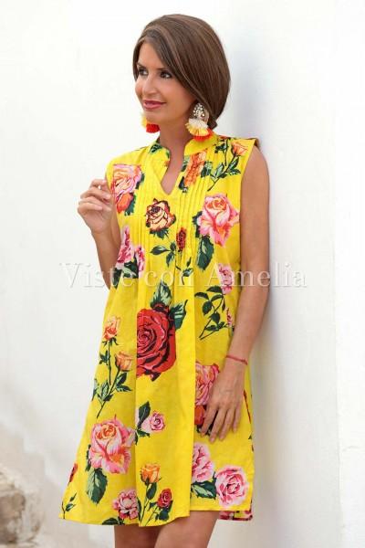 Camisola Flor Amarilla