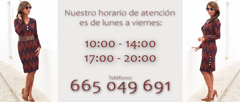 Horario de Atención telefónica
