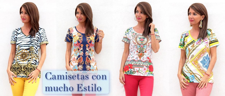 Camisetas con mucho estilo